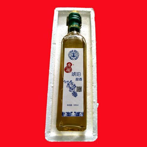 供应 客家娘酒 特产批发玻璃装 即饮6度糯米酒