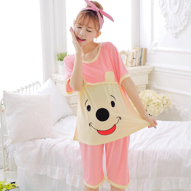 可爱月子服哺乳衣