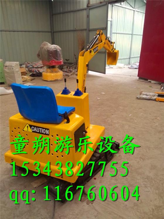 儿童大型挖掘机玩具游乐挖掘机参数