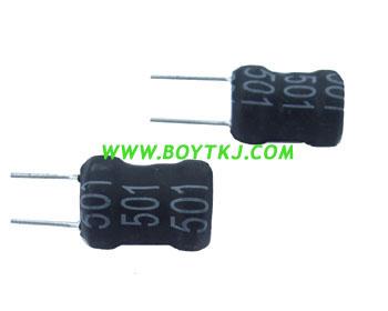 BYT插件电感BTPK0608-100K工字电感 绕线电感 深圳功率电感