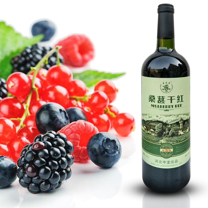 供应 珍藏版6瓶装桑葚酒