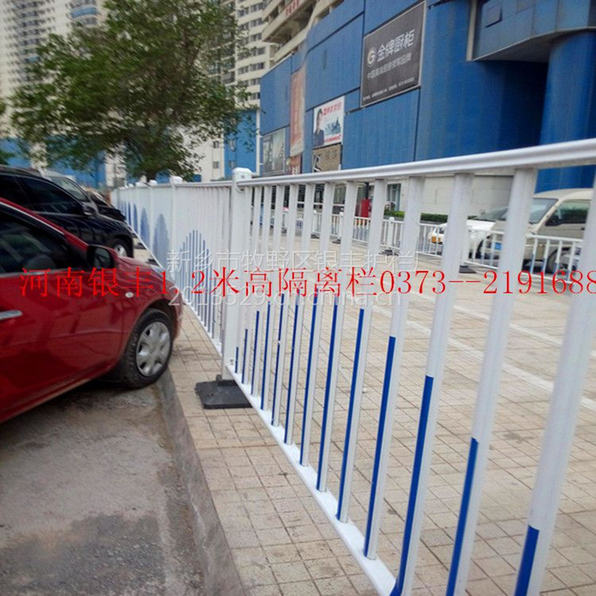 河南郑州新乡组合道路栏杆|无焊接道路栏杆|道路栏杆造型