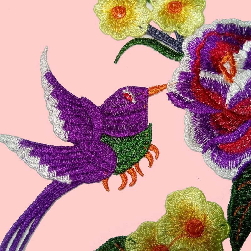 身衣绣出品 水溶刺绣彩色花边 多色绣花