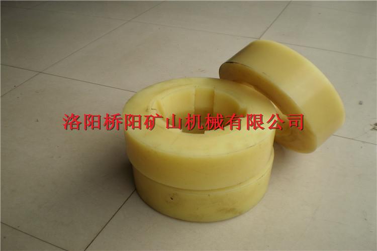 桥阳热销产品耐磨耐腐蚀聚氨酯轻型滚轮罐耳