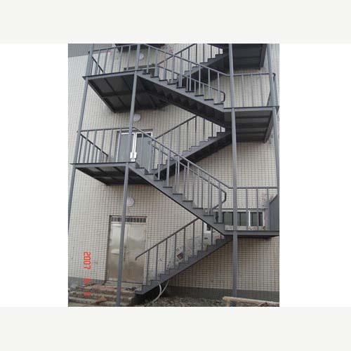石家庄钢结构楼梯安装制作