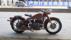 供应长江750CC精致单机改装(橙色亮光)