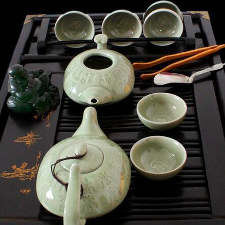 供应 耀州瓷 茶具套装
