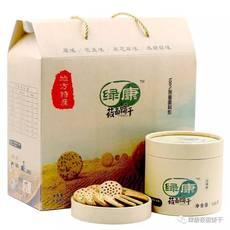 优质低价绿康无糖莜面(裸燕麦)饼干 适合三高人群 (原味盒装) 健康食品