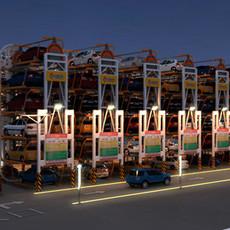 垂直循環類停車設備適用于停車位局限的地方-九路泊車