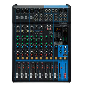 Yamaha 雅马哈 MG12XU 调音台12路专业舞台设备家用音控台录音