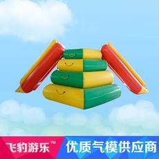 飞豹游乐SSHT水上滑梯水上充气玩具水鸟水上浮排水上漂浮物