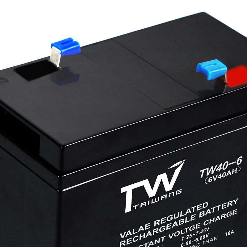 泰旺 6V40AH免维护蓄电池铅酸蓄电池厂家 6V40AH免维护蓄电池铅酸蓄电池价格