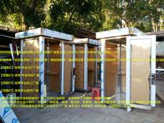 不锈钢电话亭,户外流动电话亭,轮子流动电话亭,不锈钢岗亭图