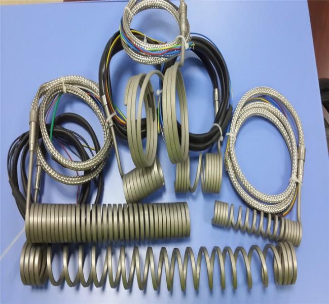 厂家生产热流道弹簧发热圈|发热管|弹簧加热圈|热流道配件