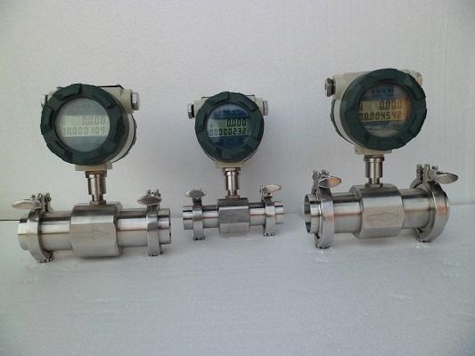 批发卡箍卫生型涡轮流量计,广东广州流量计厂家