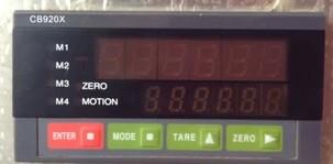 CB920X-10自动计量显示器 CB920X-10包装控制仪表