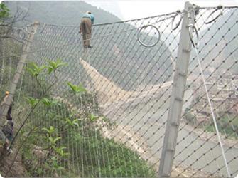 现货供应贵阳SNS柔性防护网 贵州被动边坡防护网