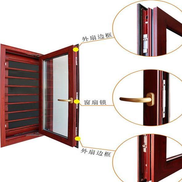 昆明门窗铝合金断桥铝封阳台推拉平开窗隔音玻璃防盗护栏定制