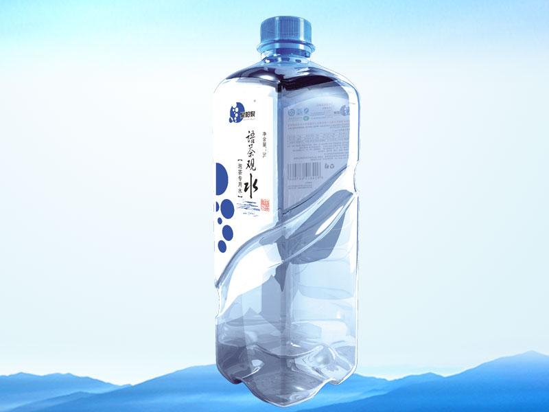 泉阳泉3L泡茶专用水语茶观水全国招商