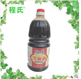 供应长期供应 1.6l冠博健康食用油 一级小磨香油芝麻油
