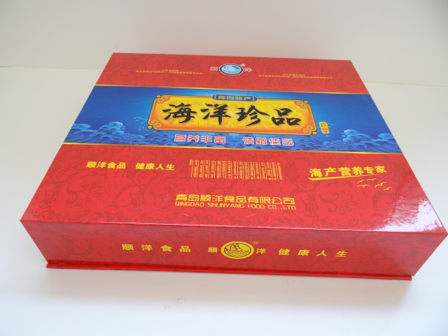 厂家直销定做精美高档海鲜礼盒