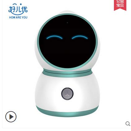 拟脑智能机器人儿童早教学习聊天陪护视频通话小胖