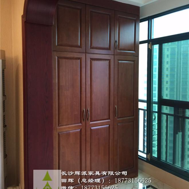 长沙整房家具定制-原木柜体定制-原木护墙板订做商家直销