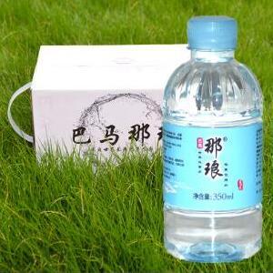 巴马水巴马那琅天然活泉矿泉水350ml小分子水弱碱水