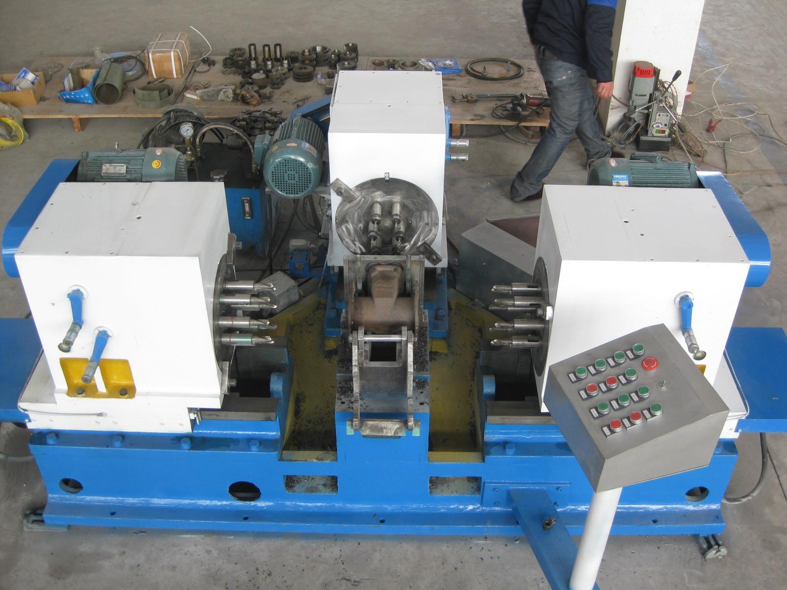 泵管道多头三面钻液压机床价格图片
