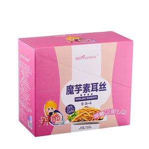 四川特产食品香辣魔芋素耳丝香辣味 魔芋零食 休闲食品 魔芋仿生食品