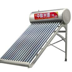 泰安祥源 中科光源之星太阳能 不锈钢款太阳能热水器批发
