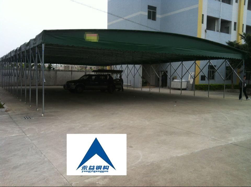 [厂家直销]推拉活动雨棚帐篷,伸缩蓬
