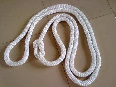 编制尼龙绳保留了尼龙绳的特性,除去了撮制尼龙绳的缺点—粗硬,摩擦力