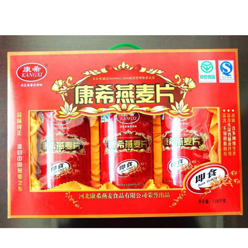 优质源头厂家康希直销供应批发 燕麦片 优质即食燕麦片 礼盒装 实体批发