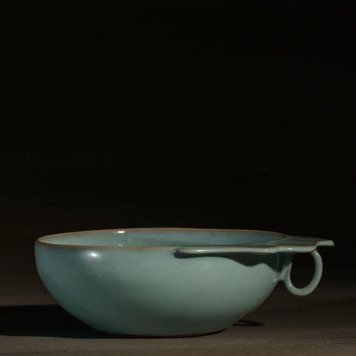 单柄洗-宋钧  原件藏于故宫博物院 精品摆件 平安 高端礼品