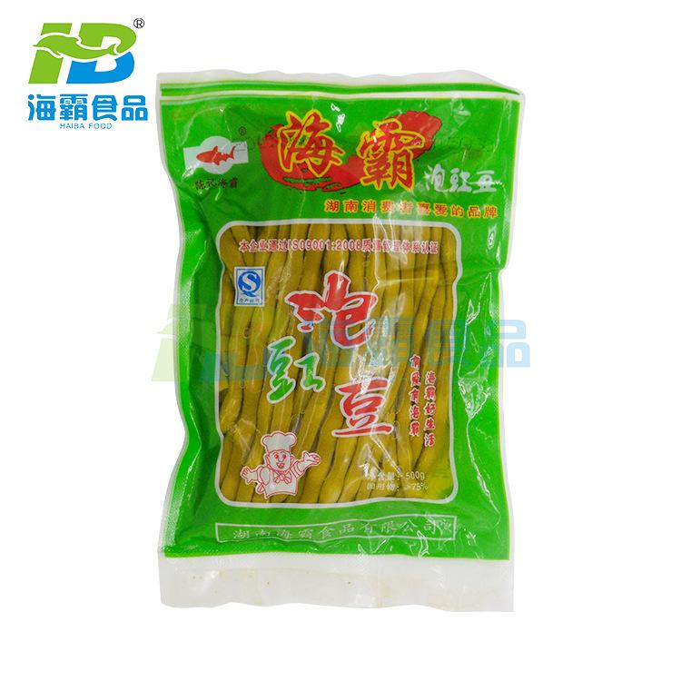 湖南特色500g泡豇豆 海霸优质酸豆角 特色酱菜豇豆爽脆酸豆角调味