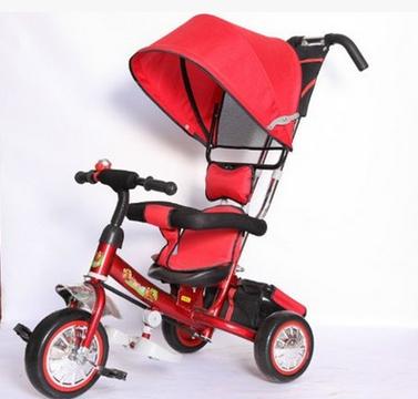 婴儿推车儿童三轮车宝宝脚踏车婴儿手推车自行车充气胎厂家直销