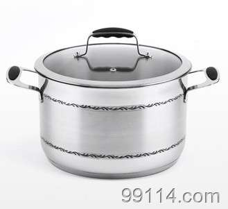 不锈钢厨具 不锈钢汤锅 炒锅 广东三A 304医用不锈钢