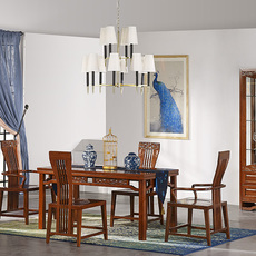 供应优质餐桌椅 香樟家具吉安品章香樟家具