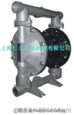 气动铝合金隔膜泵RG25、不锈钢隔膜泵、聚丙烯隔膜泵、PVDF隔膜泵