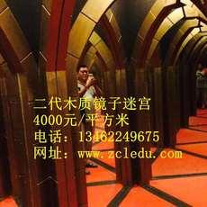 厂家直销木质款镜子迷宫游艺设施