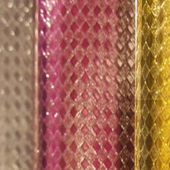 供应 金葱菱形 金葱膜 金葱纸 仙度瑞拉 闪光膜 特种纸