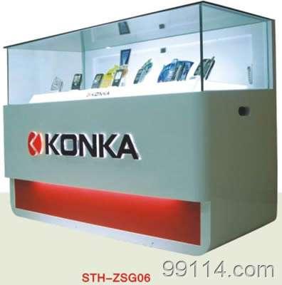 深圳数码产品展柜,手机展柜制作厂家,手机展柜订做