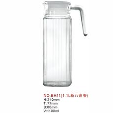 供应  厂家直销、1100ml容量新八角冷水壶  水壶
