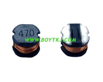贴片功率电感CD43 非屏蔽绕线电感 深圳功率电感厂直销