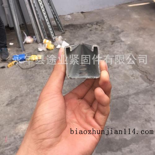 供应C型钢光伏太阳能配件 C型钢支架 塑翼螺母 支架连接件 弹簧螺母