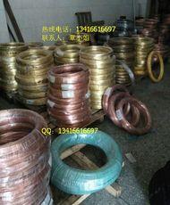 低价供应江铜H65半硬黄铜线 硬态 软态黄铜丝 黄铜弹簧线 工艺铜丝 黄铜方线 黄铜扁线