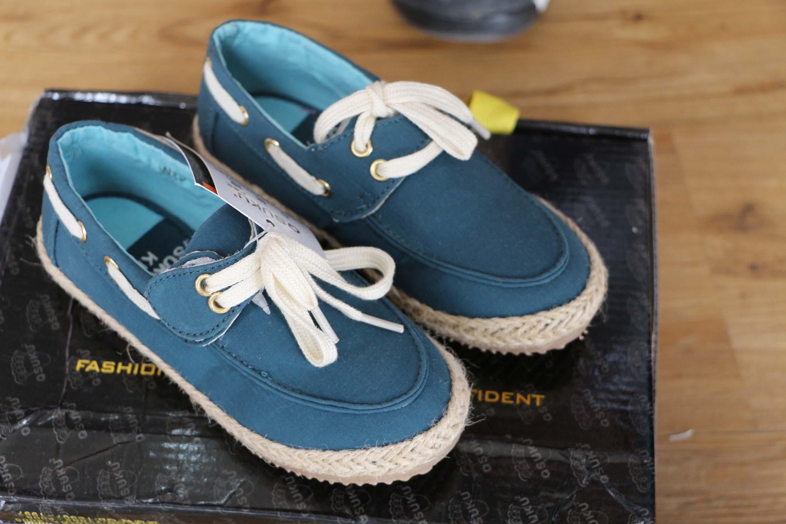 懒人布鞋鞋子