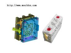 小型储货蓝塑料模具,豪华注塑储货蓝模具