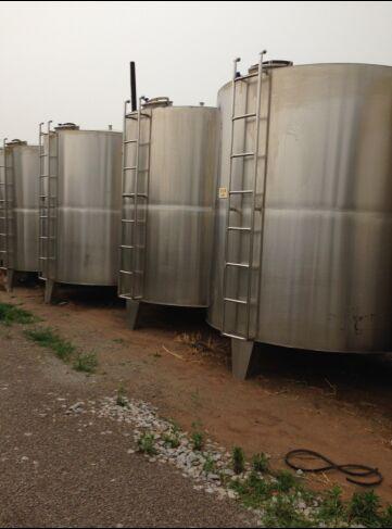 供应二手10吨不锈钢储罐价格
